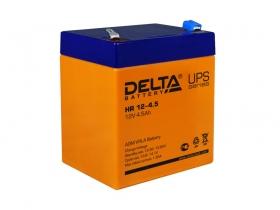 Аккумулятор для источника бесперебойного питания  DELTA HR 12-4,5